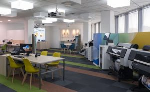 The new Epson Business Demo Center has been inaugurated