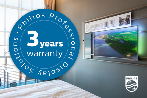 Philips, a warranty for hospitality